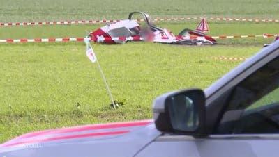 Flugzeugabsturz: Die zwei verstorbenen Männer waren auf einem Schall-Messflug