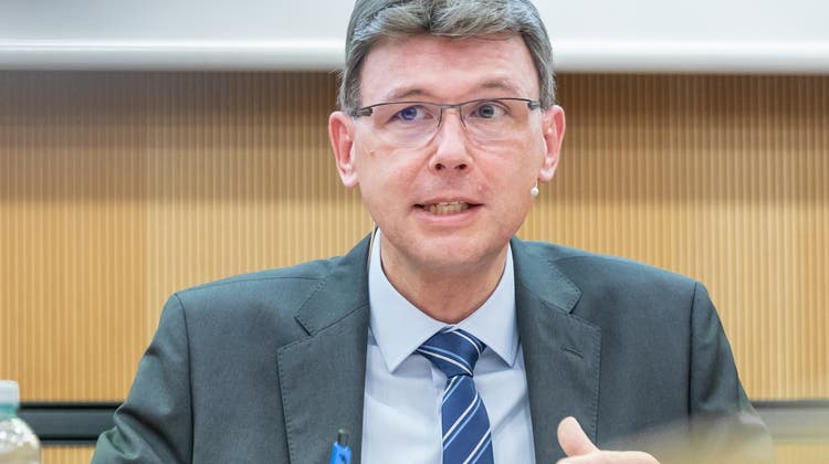 Regierungsrat Dieter Egli findet die Corona-Demonstrierenden «unsolidarisch». (Fabio Baranzini)