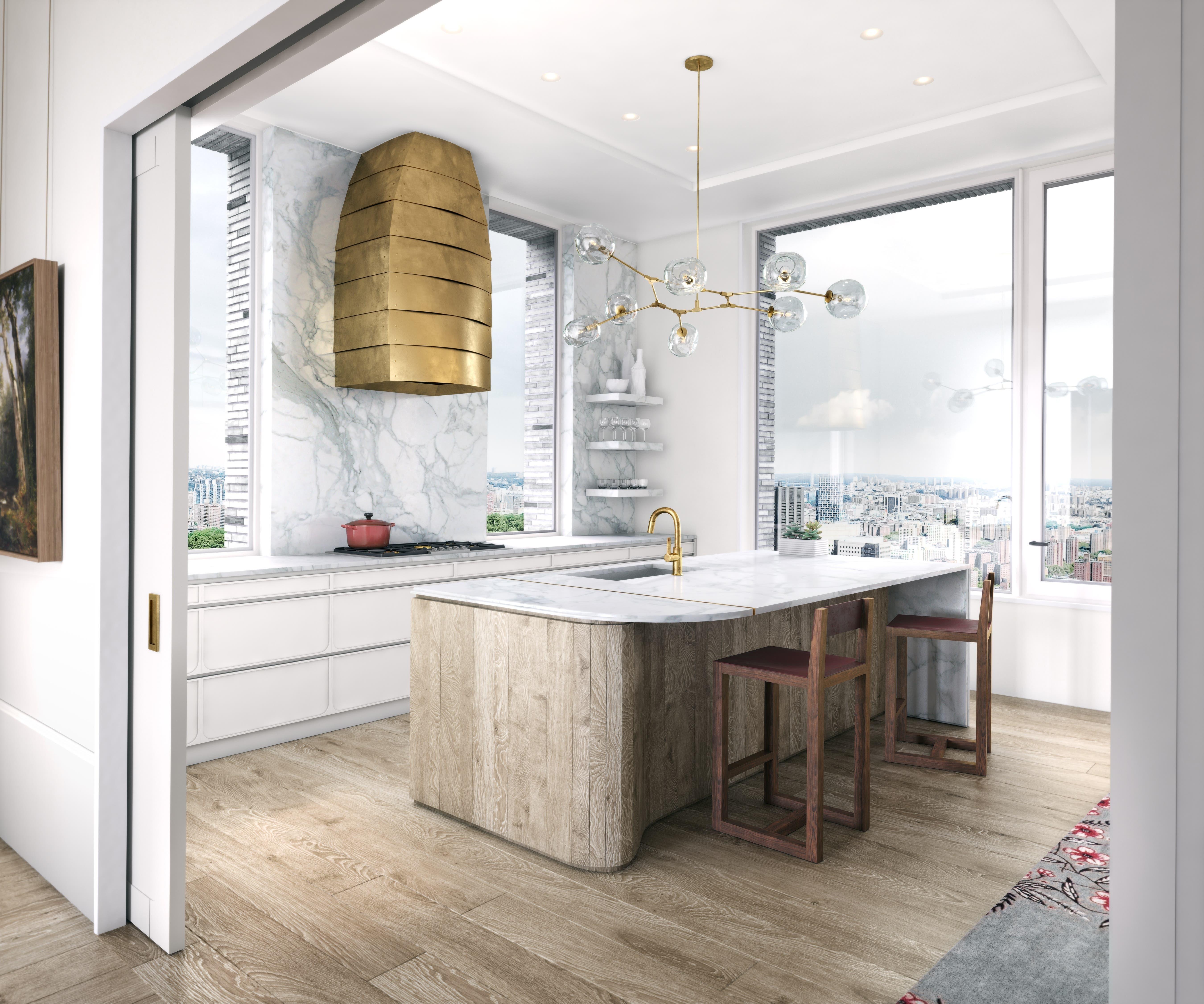 Die US-Firma Arrigoni Woods hat sich in New York City um den Holzausbau beim Projekt 180 East 88th Street gekümmert.