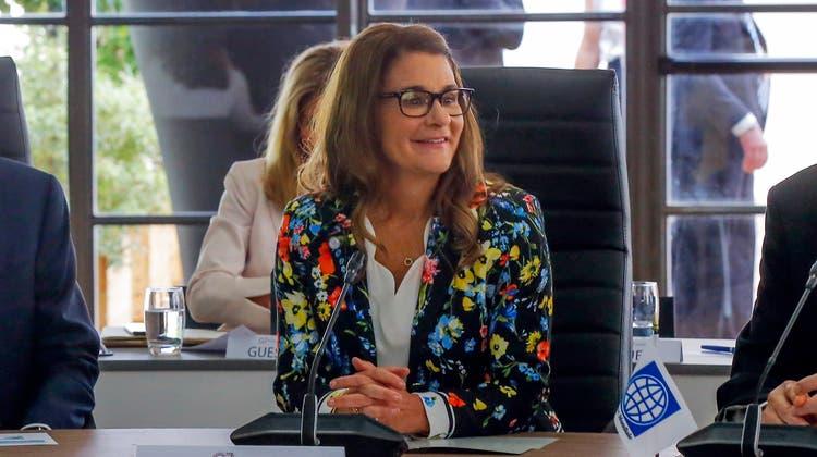 Laut Bundesamt für Statistik hat Melinda Gates als Frau weniger gute Karten, nochmals zu heiraten. (Keystone)