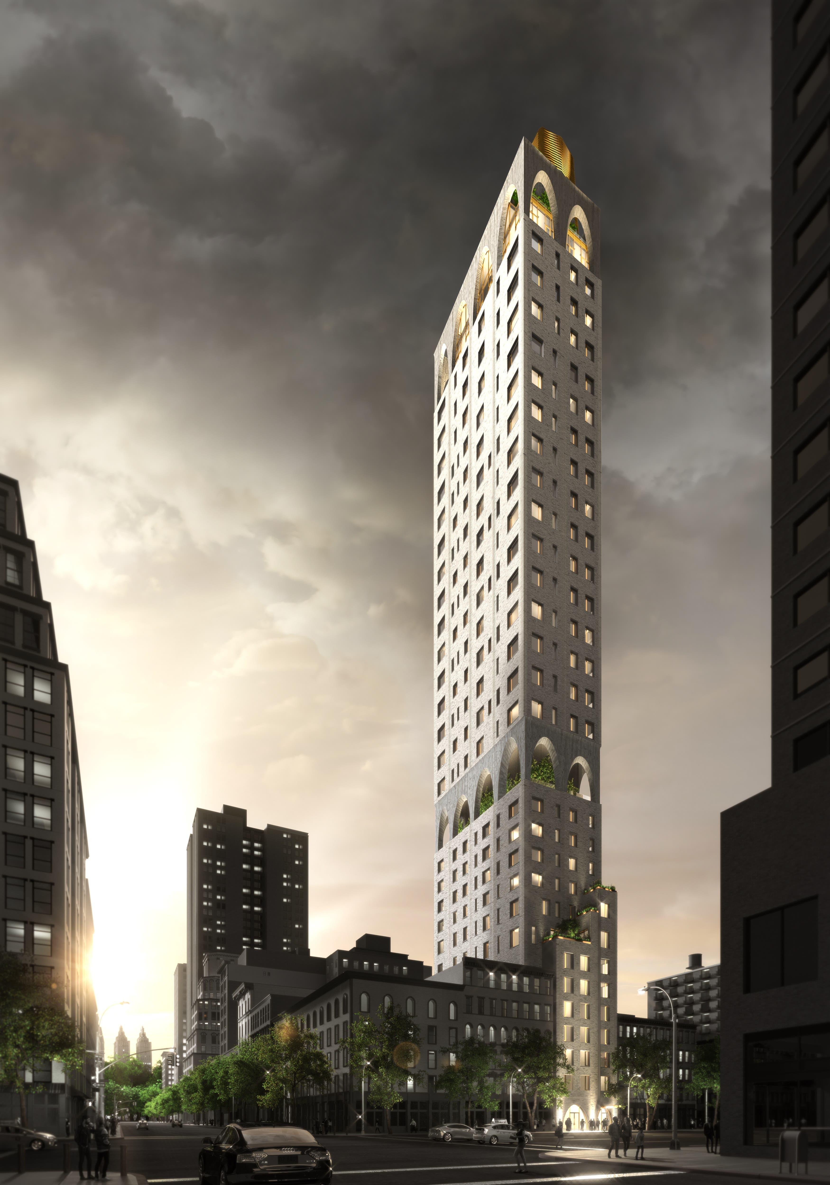 Auf das Projekt 180 East 88th Street in New York City ist Balz Arrigoni besonders stolz.