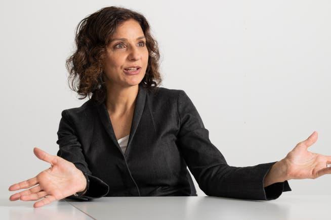SP-Präsidentin Gabriela Suter erhält eine jährliche Entschädigung von 14'400 Franken, zuzüglich Spesen.