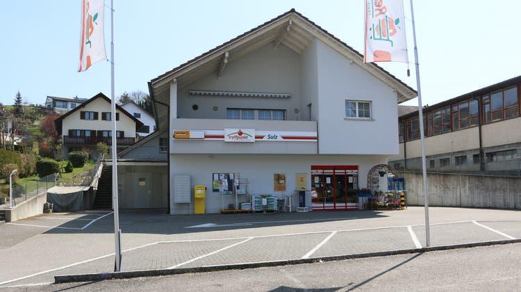 Der «Treffpunkt»-Laden an der Hauptstrasse im Laufenburger Ortsteil Sulz wird im kommenden Jahr zum Volg. (Dennis Kalt (21. April 2021))