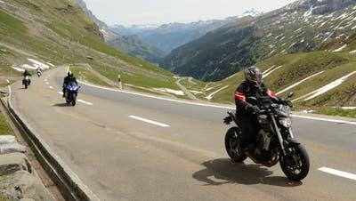 Der Klausen ist bald wieder durchgehend befahrbar. Die Motorradfahrer dürfte das freuen. (Bild: Urs Hanhart (22. Mai 2020))