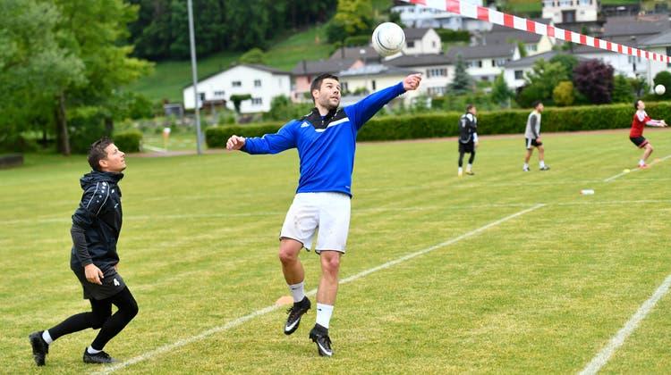 Das NLA-Team der FGRickenbach-Wilentrifft zum Auftakt auf Elgg und Walzenhausen. (Bild: Ralph Ribi (Wilen, 4. Juni 2020))