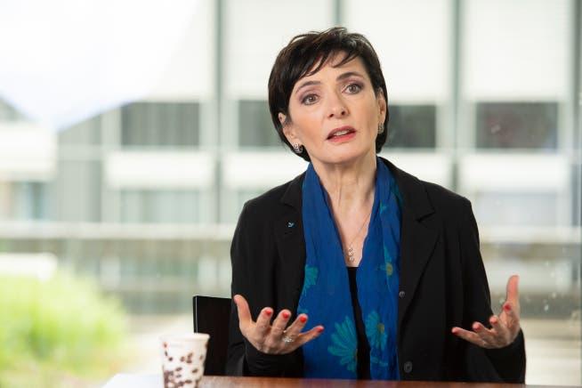 Die Mitte-Präsidentin Marianne Binder teilt sich mit Fraktionschef Alfons P. Kaufmann eine Jahresentschädigung von 30'000 Franken.