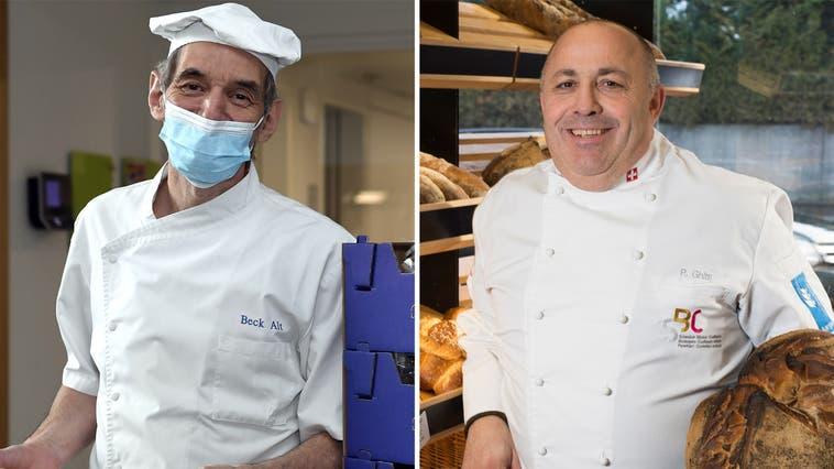 Pierluigi Ghitti, Bäcker, Chef vom «Spitzbueb», Baden, 20. Januar 2016. (Alex Spichale / BAD)