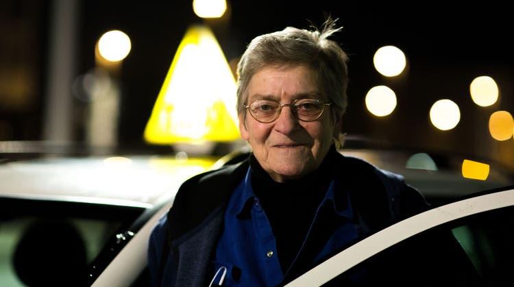 Rosi Gadient war als «Taxi-Rosi» in Solothurn bekannt. (Thomas Ulrich)