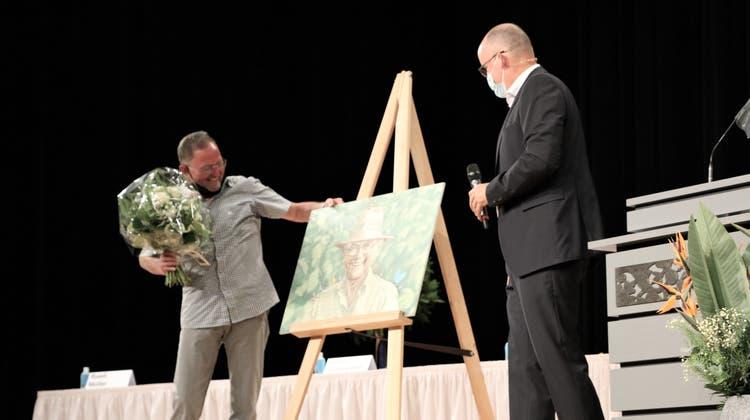 Uzwils Gemeindepräsident Lucas Keel. (Bild: Larissa Flammer)
