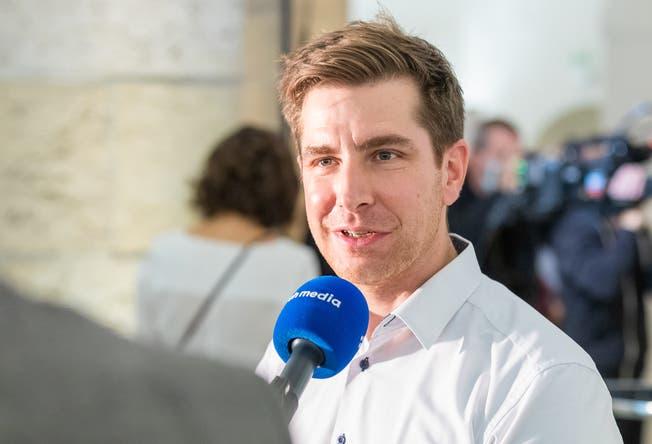 Grünen-Präsident Daniel Hölzle hätte eine Jahresentschädigung von 2000 Franken zugut, verzichtet aber auf diesen Betrag.