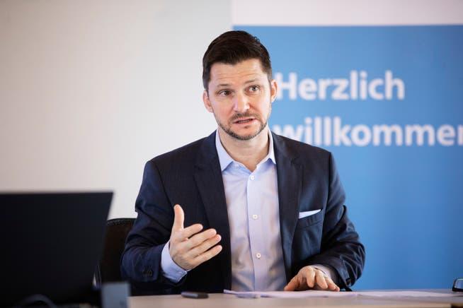 Beat Bechtold, Direktor der Aargauischen Industrie- und Handelskammer.