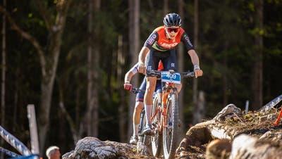 Auf dem Weg zu einem weiteren Meistertitel: Jan Christen auf dem Mountainbike. (ZVG)