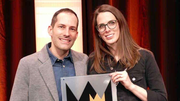 Strahlende Gewinner: David und Nicole Schmid. (zVg)