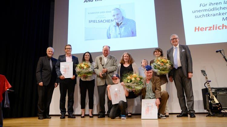 Sozialpreis-Verleihung im 2016. (Hansjoerg Sahli)