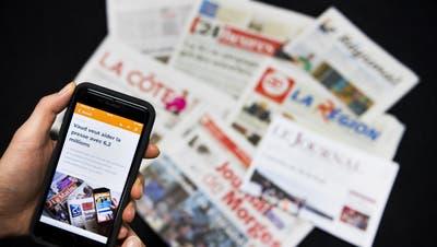 Das Massnahmenpaket des Bundes für die Medienbranche ist weiterhin nicht unter Dach und Fach. (Symbolbild) (Keystone)