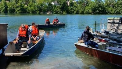 Bei der Querwanderung ging es mit Booten über die Limmat. (zvg)