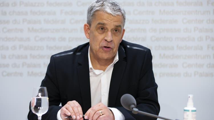 Christoph Berger ist seit 2015Präsident der Eidgenössischen Kommission für Impffragen (Ekif). (Keystone)