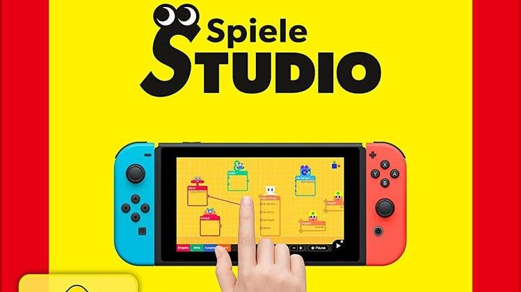 Das «Spielestudio» auf Nintendo Switch (Bild: zvg)