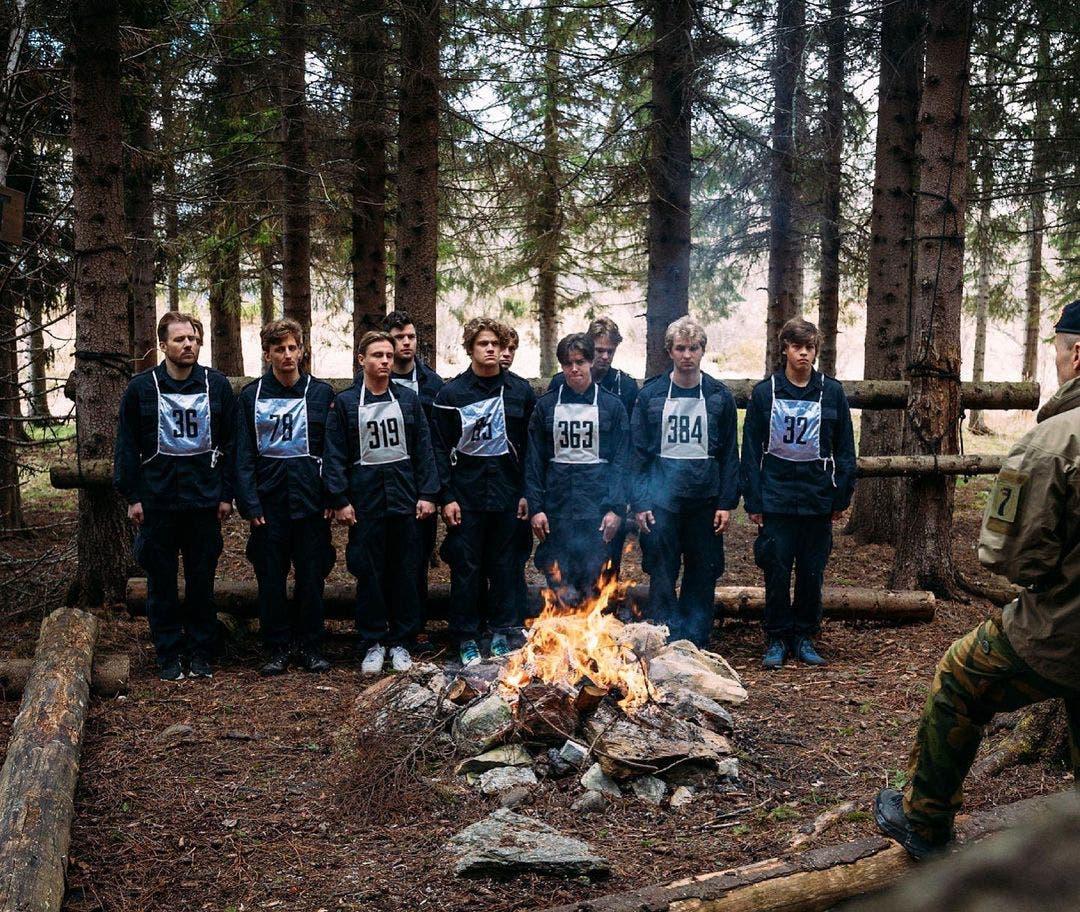 Die Norweger waren in einer Nacht auf sich alleine gestellt und mussten Wege finden, um in der Wildnis zu überleben.