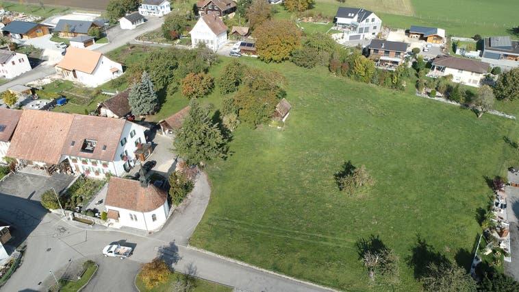 Sieben Bauplätze bietet die Gemeinde Aedermannsdorf zum Kauf an. Für mindestens 205 Franken pro Quadratmeter. (Bruno Kissling)