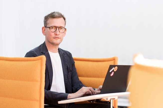 Der Design-Chef Christian Grosen hat das Büro der Zukunft konzipiert.