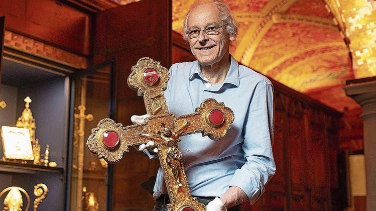 Vor 850 Jahren erhielt Luzern ein Fragment des «Wahren Kreuzes Christi»