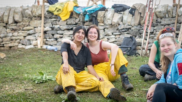 Lin Kaldian aus Israel (Links) und Irina Moser aus Biel (rechts). (Michel Lüthi)