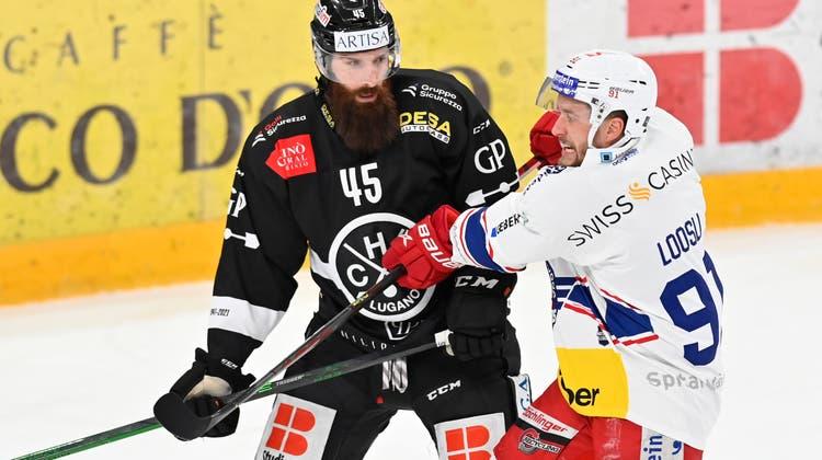 Spielte letzte Saison 32-mal für den HC Lugano: Eliot Antonietti. (Freshfocus)