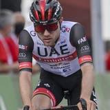 Marc Hirschi beendet die 6. Etappe der Tour de Suisse als 15. (Gian Ehrenzeller / KEYSTONE)