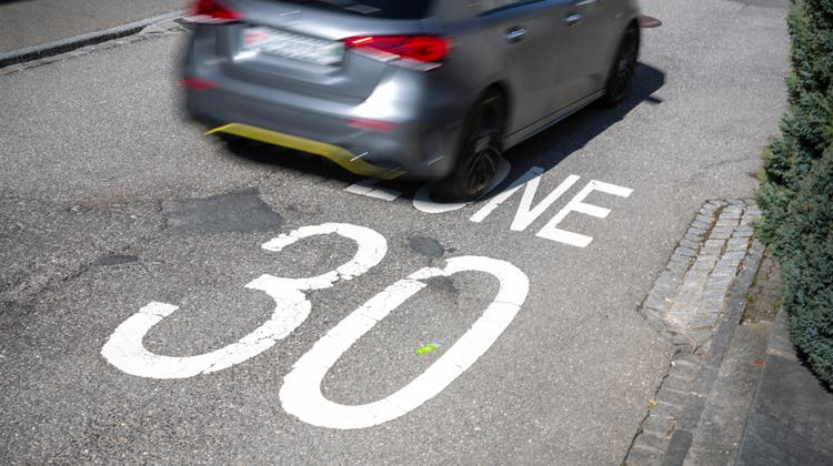 Die Gemeinde Hägglingen plant die Einführung von Tempo 30 auf den Gemeindestrassen. (Tobias Garcia)