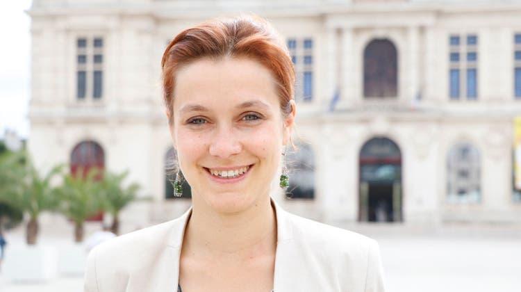 Léonore Moncond'huy, 31, grüne Bürgermeisterin von Poitiers. (Wikipedia)
