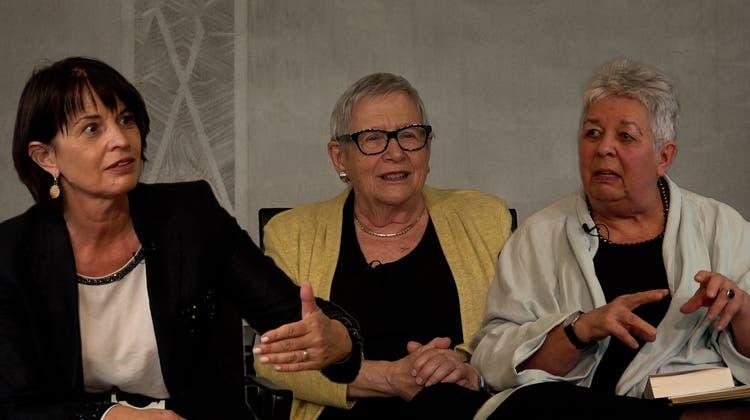 «Wir waren doch eine blöde Konkurrenz!»: Drei Aargauer Pionierinnen über ihre Erfahrungen in der Politik