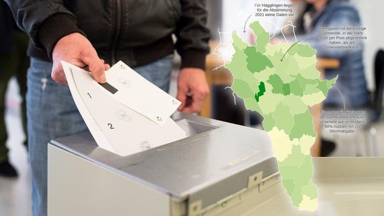 An diesem Wochenende heisst es für die Schweizerinnen und Schweiz wieder abstimmen. (Gian Ehrenzeller (November 2014))