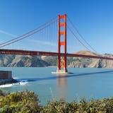 Die imposante Golden-Gate-Brücke in San Francisco: Schon bald wieder ein Zielort für Schweizer Touristen? (Design Pics Vibe / www.imago-images.de)