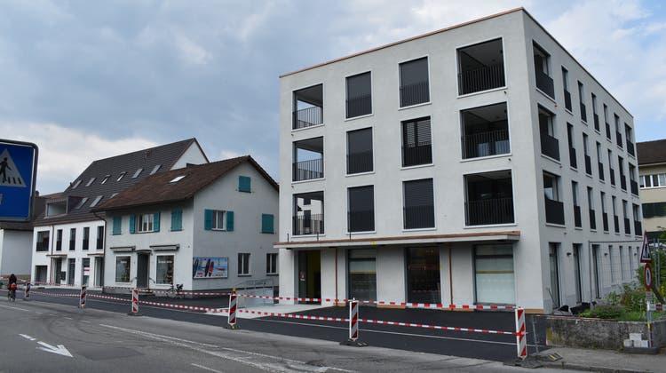 Kommende Woche wird die neue Volg-Filiale im «Zentrum Riburg» eröffnet. (Nadine Böni / Aargauer Zeitung)