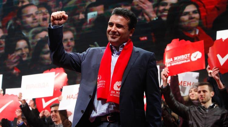 Permier Zoran Zaev verliert langsam die Geduld mit Brüssel. (AP)