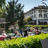 Alle Gartenbeizen der Ostschweiz auf einen Blick