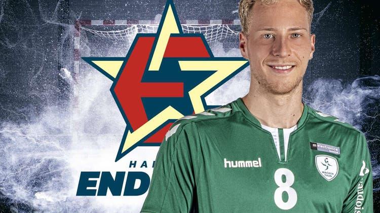 Marco Giovanelli warf in der Nationalliga A 57 Tore für Wacker Thun. (zvg/Handball Endingen)