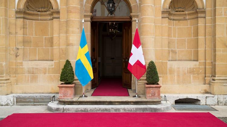 Der bislang letzte Besuch eines schweizerischen Bundespräsidenten in Schweden fand 2009 statt. (Keystone)