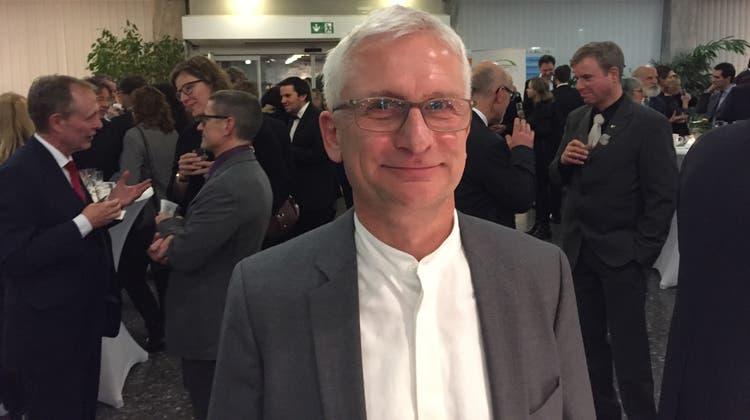 Der grüne Lörracher Bundestagsabgeordnete Gerhard Zickenheiner stellt sich an die Seite von Beat Jans. (Bild: Peter Schenk (bz-Archiv))