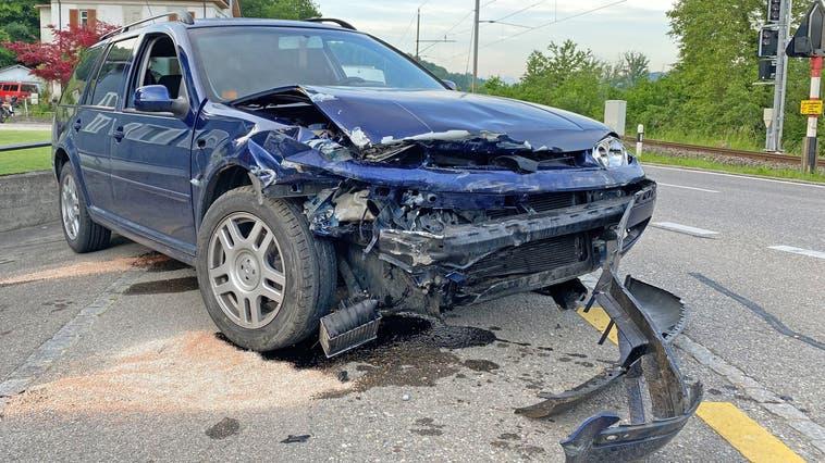 Der Lenker war alkoholisiert und schlief während der Fahrt ein, er blieb unverletzt. (Bild: Kapo TG)