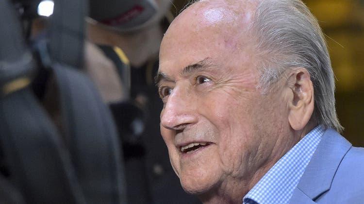 Sein Nachfolger hat ihm den Post-Krieg erklärt: Sepp Blatter, hier in einem Archivbild aus dem Jahr 2018. (Dmitry Serebryakov / AP)