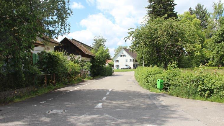 Kirchweg-Zelgli: Der Kredit für den Totalausbau der beiden Strassen von 2,745 Mio. Franken wurde an der Urne deutlich abgelehnt. (Andrea Weibel)