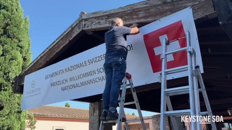 Ruhig und idyllisch: So logiert die Schweizer Fussballnationalmannschaft in Rom