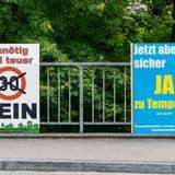 Ein äusserst lebendiger Abstimmungskampf zu Tempo 30 auf Gelterkindens Gemeindestrassen ist beendet‒ mit einem klaren Sieg des Nein-Lagers. (Kenneth Nars)