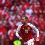 Christian Eriksen kollabierte im EURO-Gruppenspiel gegen Finnland offenbar aufgrund eines Herzstillstands. (Bild: Keystone)