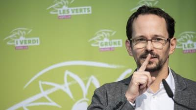 Kritisiert unter anderem den Freisinn scharf: Grünen-Präsident Balthasar Glättli. (Bild: Ennio Leanza/Keystone)