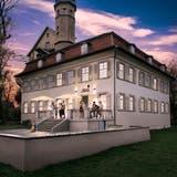 So könnte dieLuxburg einmal aussehen: Visualisierung nach der Sanierung des Schlosses. (Bild: PD)