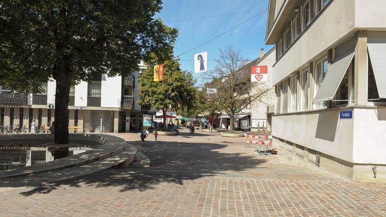 Riehen möchte keine Aufwertung der Rössligasse. Hier im Bild: Der Dorfplatz. (BZ/Töngi)