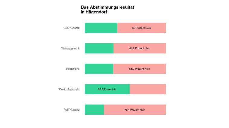 Eine Mehrheit in Hägendorf lehnt das CO2-Gesetz ab